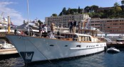 1964-launched SERENA Yacht in Monaco - Photo by Hanco Bol and Feadship Fanclub
