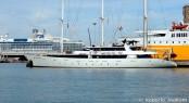 53m Perama Sailing Yacht PAN ORAMA in Livorno, Italy - Photo by Roberto Malfatti