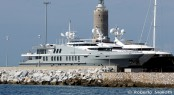 55m Oceanfast charter yacht OBSESSION in Livorno, Italy - Photo by Roberto Malfatti
