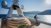 61m CRN mega yacht SARAMOUR - Sun Deck