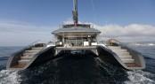 Blue Coast 95 catamaran Cartouche - Photo Credit to Gilles Martin-Raget