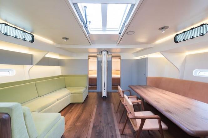 COOL BREEZE Yacht - Saloon