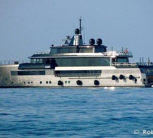 Eye-catching 55m Superyacht ATLANTE by CRN in Livorno, Italy