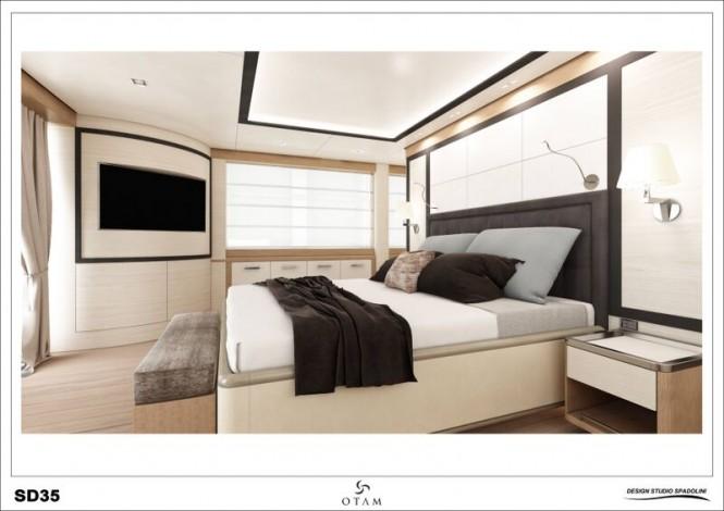 GIPSY Yacht - Cabin