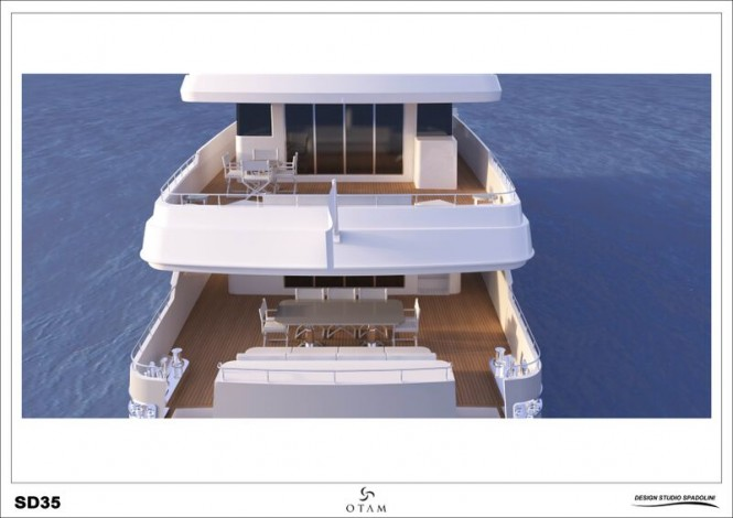GIPSY superyacht - aft view