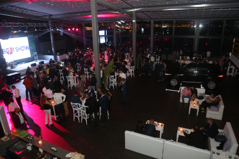 Guests were entertained with live music during The Yacht Walk premiere party