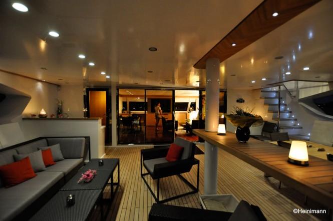 Luxury charter yacht BLACK SWAN (ex RAFOLY) Glass Doors by Allufer Tempesta