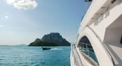 Luxury motor yacht Majesty 56 in the fabulous Southeast Asia yacht charter location