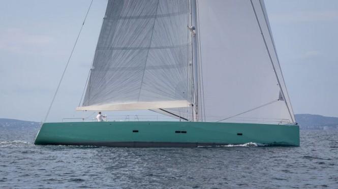 Luxury yacht COOL BREEZE - Photo by J. Renedo