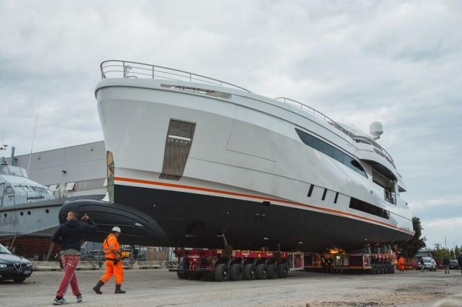 Luxury yacht GENESI ready for launch