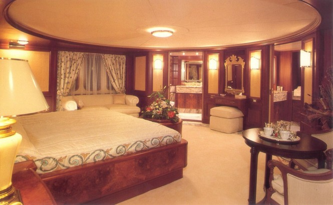 Luxury yacht Lady K II - Cabin