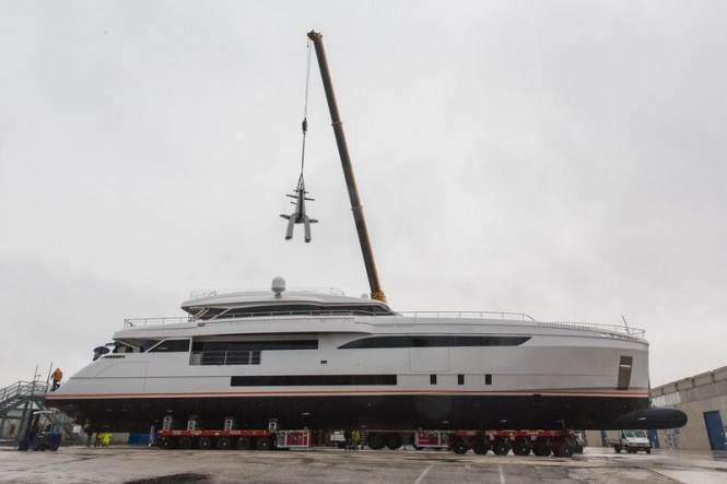 Motor yacht GENESI at launch