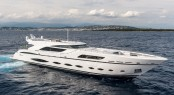 NEW AB 145 Motor Yacht FAST & FURIOUS off the lovely Cannes yacht holiday destination