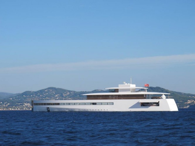 Newly refitted 78m Feadship Yacht VENUS in La Ciotat, France - Photo by Guillaume & Amandine Conti and Feadship Fanclub