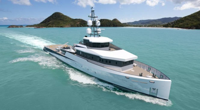PIRIOU YSV 53 superyacht support vessel - Image credit to PIRIOU