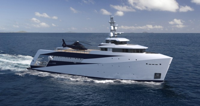 PIRIOU YSV 63 mega yacht support vessel - Image credit to PIRIOU