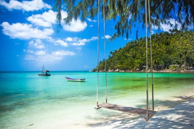 Phangan island, Koh Samui - a breath-taking Thailand yacht charter destination - Photo credit to Asia Pacific Superyachts Koh Samui