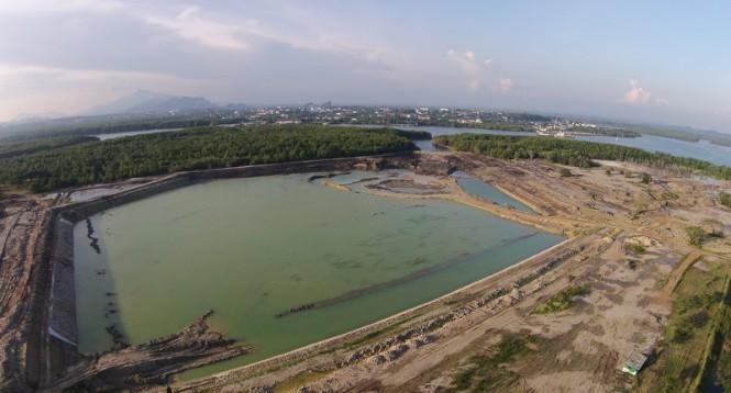 Progress on Port Takola - June 2015