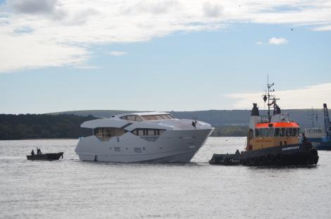 'Sunseeker 116 Yacht' motor yacht Hull no. 1