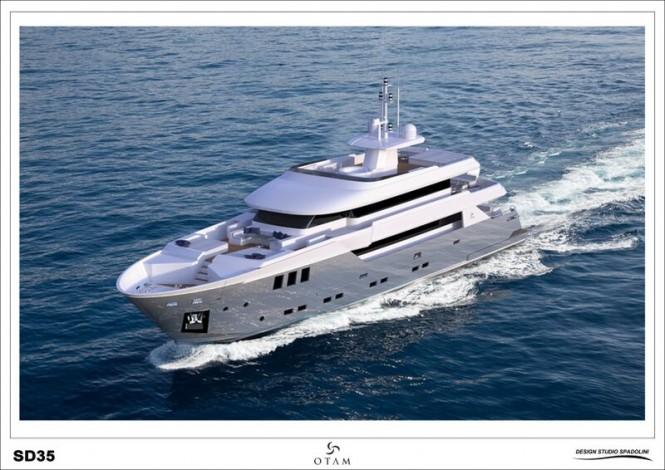 Superyacht GIPSY - underway