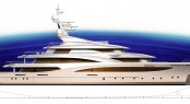 TURQUOISE 81m mega yacht project by Andrew Winch