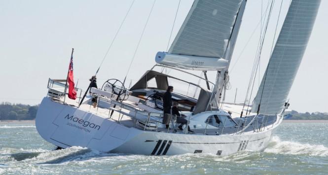 Third Oyster 825 sailing yacht MAEGAN
