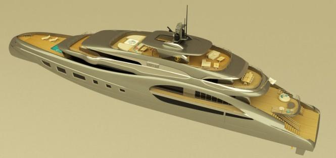 65m T. Fotiadis Yacht Concept