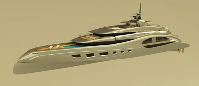 New 65m Motor Yacht Concept by Theodoros Fotiadis