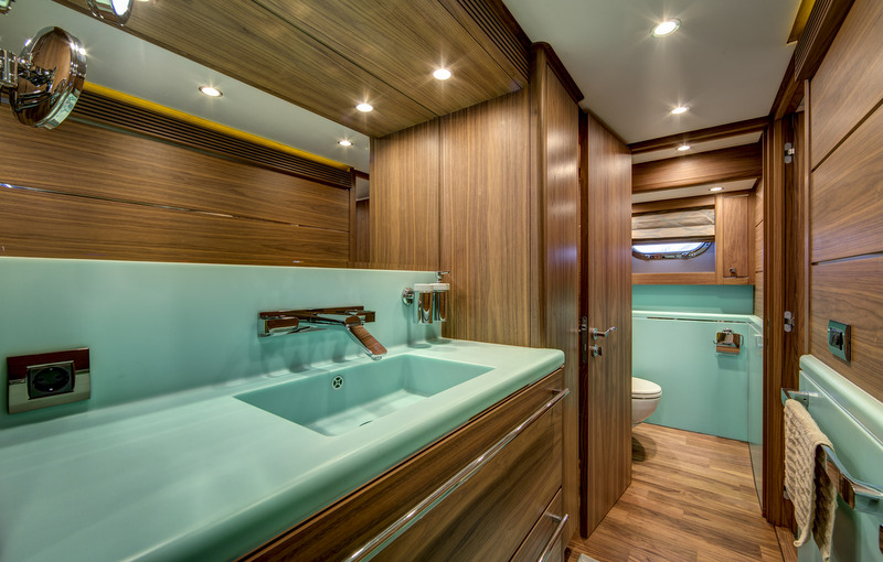 SELENA Yacht Bathroom Luxury Yacht Charter Superyacht News
