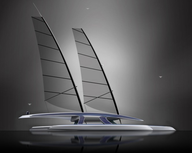 100-foot MARS research vessel - an autonomous trimaran