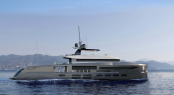 44m superyacht NEMO project designed by Fulvio De Simoni for Ocea Yacht