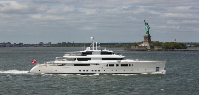 73m Picchiotti Yacht GRACE E in New York
