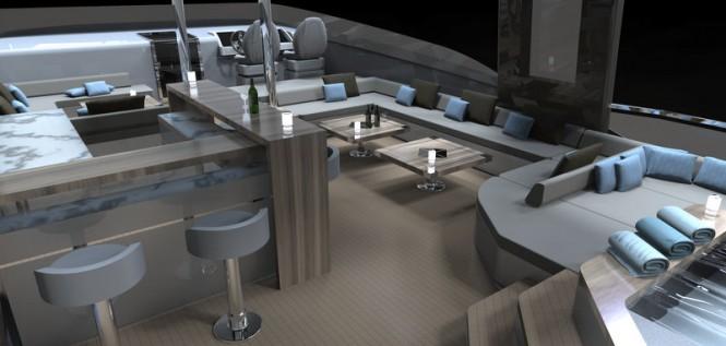 Aboard luxury yacht SeaStella 110'