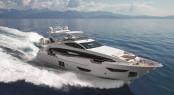 Azimut Grande 95RPH Yacht underway