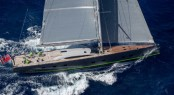 Baltic 108 Yacht WinWin under sail