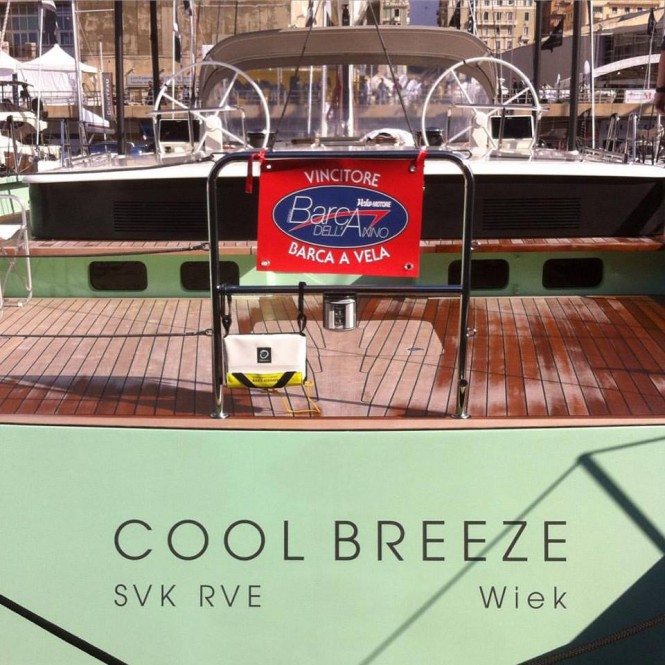 Brenta 80 DC Sailing Superyacht COOL BREEZE Winner of the Boat of the Year 2015 Award