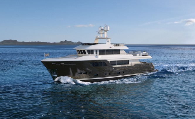 Darwin Class 102 explorer yacht ACALA by Cantiere delle Marche