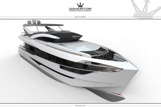 Dominator superyacht ILUMEN 26