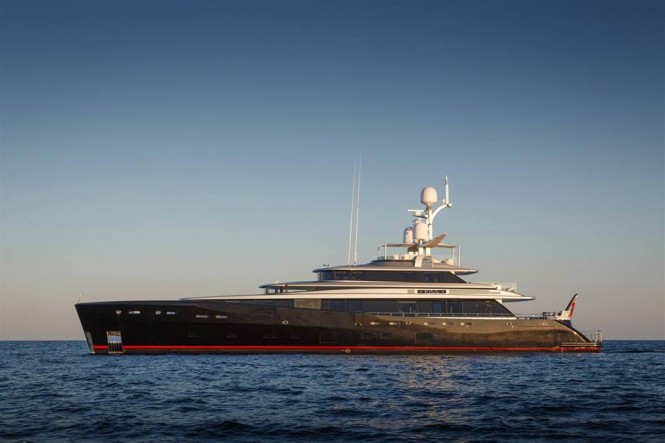 Dubois-designed 46m Feadship superyacht KISS