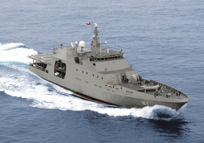 Fassmer OPV80 on duty in Chile