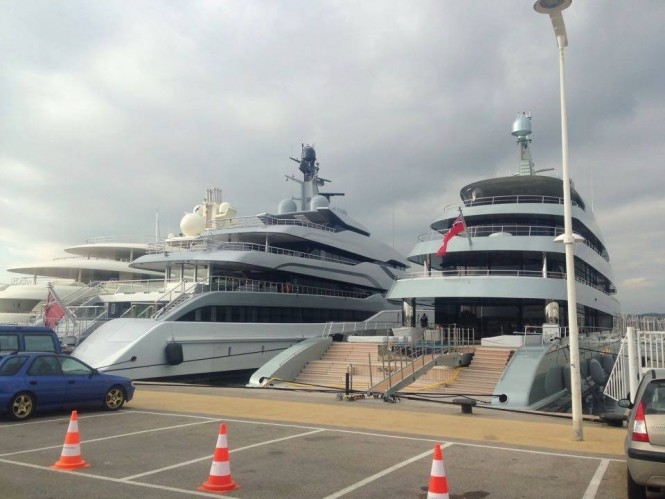 Feadship Superyachts TANGO and SAVANNAH in Antibes - Photo by Jordi Duin and Feadship Fanclub