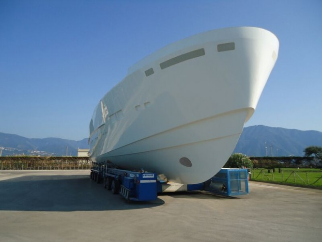 First Arcadia 100 Yacht Hull