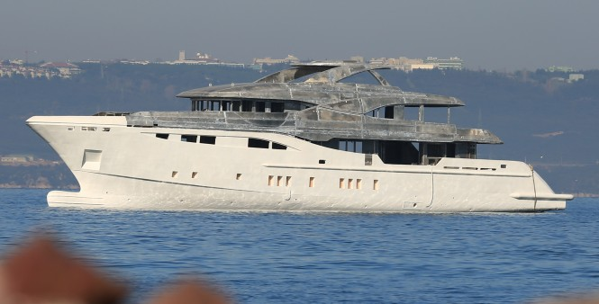 First Bilgin 156 Yacht by Bilgin Yachts on the water