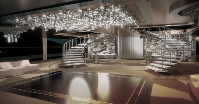 KRAKEN Yacht Concept - Interior