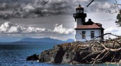Lime Kiln Lighthouse - San Juan Island - Washington State - Photo Tim Thompson - courtesy of San Juan Islands Tourist Board