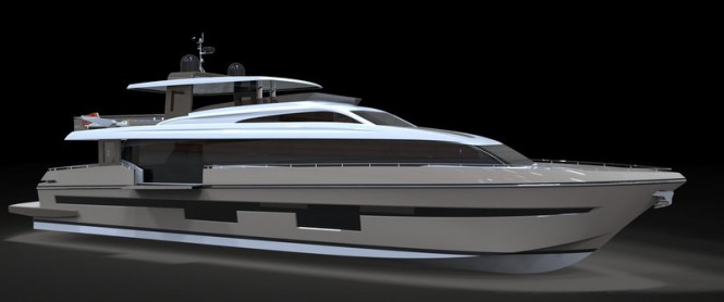 Luxury Motor Yacht SeaStella 110' by DND Yacht Design and Yihong Yachts Group