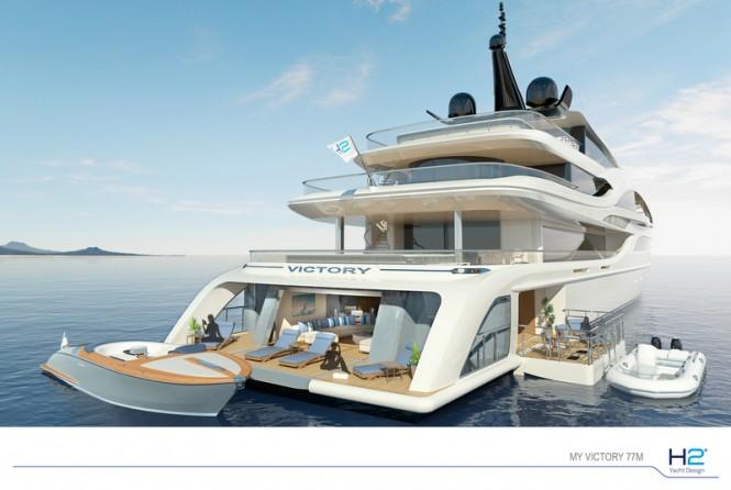 Luxury Yacht NB63 - Beach Club