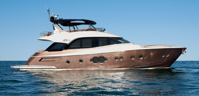 Luxury motor yacht MCY 70 by Monte Carlo Yachts