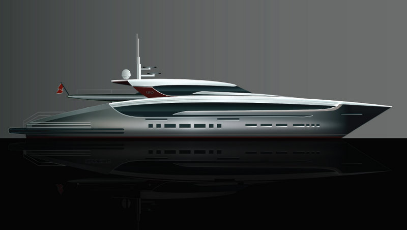 design by sunrise yachts and focus yacht design luxury yacht
