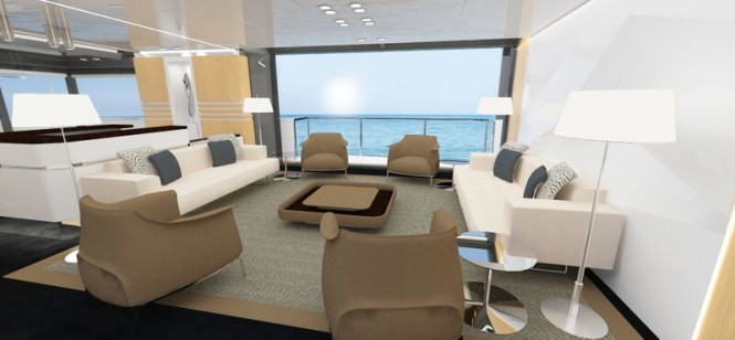 Luxury yacht Arcadia 100 - Interior